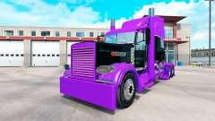 Corrida de pele para o caminhão Peterbilt 389 para American Truck Simulator