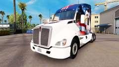 Pele U. S. A. Águia em um Kenworth trator para American Truck Simulator