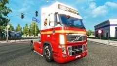 99 FDNY pele para a Volvo caminhões para Euro Truck Simulator 2