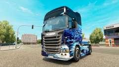 Terra pele para o Scania truck para Euro Truck Simulator 2