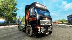 Ironman pele para a Volvo caminhões para Euro Truck Simulator 2