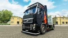 Fogo de pele para a Volvo caminhões para Euro Truck Simulator 2