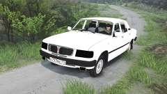 GAZ-3110 Volga [25.12.15] para Spin Tires