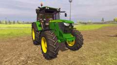 John Deere 6125M v2.0 para Farming Simulator 2013