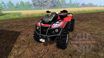 Can-Am Outlander 1000 XT [FCB] para Farming Simulator 2015
