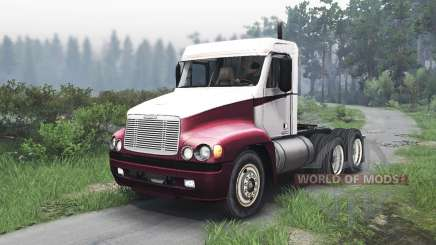 Freightliner Century Class Day Cab [25.12.15] para Spin Tires