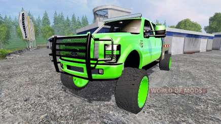 Ford F-350 [lifted] para Farming Simulator 2015