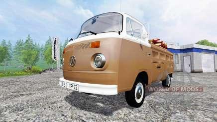 Volkswagen Transporter T2B 1972 Service para Farming Simulator 2015