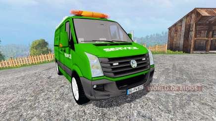 Volkswagen Crafter Service [pour galax] para Farming Simulator 2015