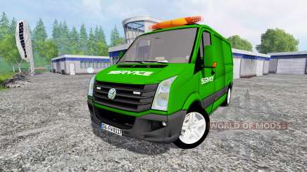 Volkswagen Crafter Service para Farming Simulator 2015