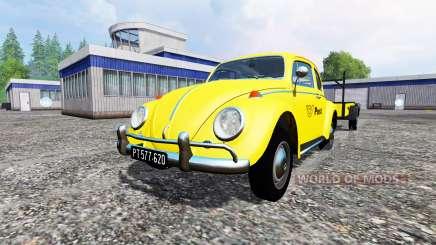 Volkswagen Beetle 1966 [Post Edition] v2.0 para Farming Simulator 2015