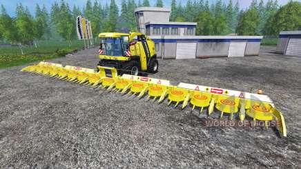 Krone Big X 1100 [Kemper Cutter] para Farming Simulator 2015