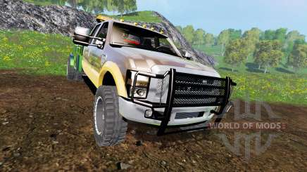 Ford F-350 [welding bed] v2.1 para Farming Simulator 2015