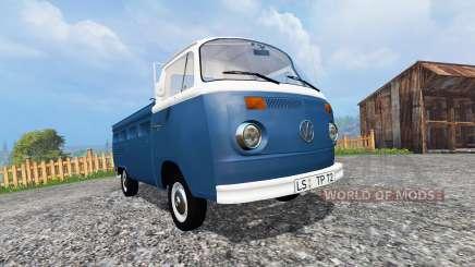 Volkswagen Transporter T2B 1972 v1.0 para Farming Simulator 2015