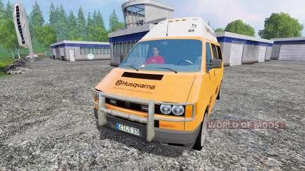 Volkswagen Transporter T4 Husqvarna Service para Farming Simulator 2015