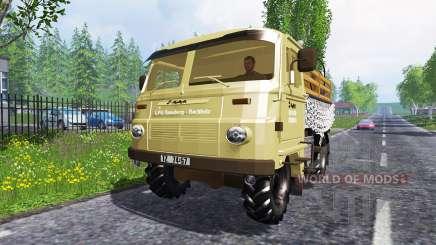 Robur LD 3000 no trânsito para Farming Simulator 2015