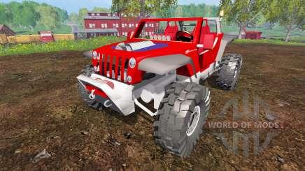 Jeep Hurricane Twin Hemi para Farming Simulator 2015