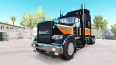 O Topo Plano de Transporte para a pele do Peterbilt 389 caminhão para American Truck Simulator