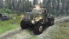 KrAZ-255 caminhão [03.03.16] para Spin Tires