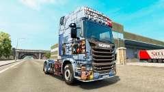 Pele Mass Effect 3 na unidade de tracionamento Scania para Euro Truck Simulator 2