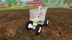 Manual carrinho de supermercado para Farming Simulator 2015