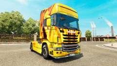 Fogo de pele para Scania truck para Euro Truck Simulator 2