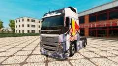 RedBull pele para a Volvo caminhões para Euro Truck Simulator 2
