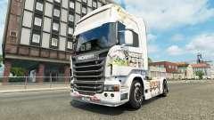 Pele Kinder na unidade de tracionamento Scania para Euro Truck Simulator 2