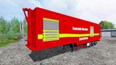 Semi-Reboque Fire Management Bjornholm para Farming Simulator 2015