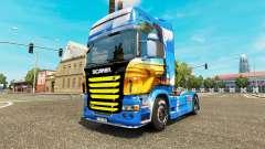 Pele Ilha na unidade de tracionamento Scania para Euro Truck Simulator 2