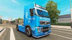 Carstensen pele para a Volvo caminhões para Euro Truck Simulator 2
