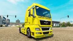 Gertzen Transporte de pele para HOMEM caminhão para Euro Truck Simulator 2