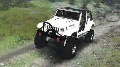 Jeep Wrangler Rubicon White [03.03.16] para Spin Tires