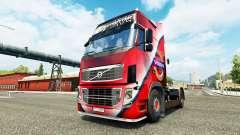 Volvo pele Especial para a Volvo caminhões para Euro Truck Simulator 2