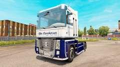 Carstensen pele para a Renault Magnum unidade de tracionamento para Euro Truck Simulator 2