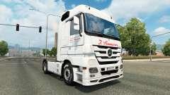 Pele J. Simmerer na unidade de tracionamento Mercedes-Benz para Euro Truck Simulator 2