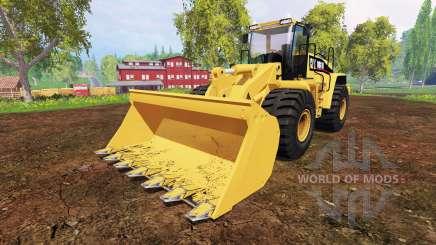Caterpillar 980H para Farming Simulator 2015