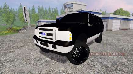 Ford Excursion para Farming Simulator 2015