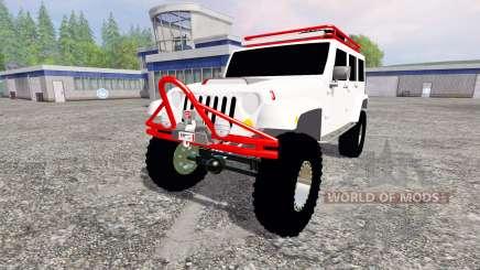 Jeep Wrangler para Farming Simulator 2015