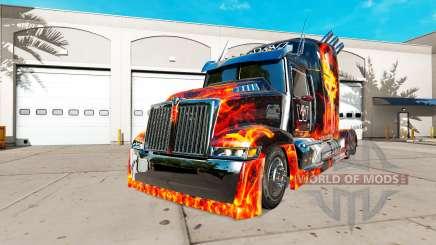 Wester Star 5700 [Optimus Prime][Edit] para American Truck Simulator