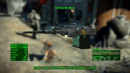 WH-Mk22 Heavy Machinegun para Fallout 4