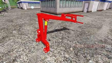 Montado na traseira carregador frontal para Farming Simulator 2015