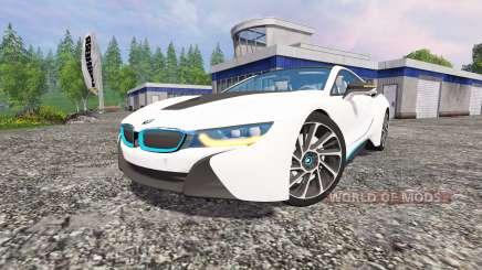 BMW i8 v1.5 para Farming Simulator 2015