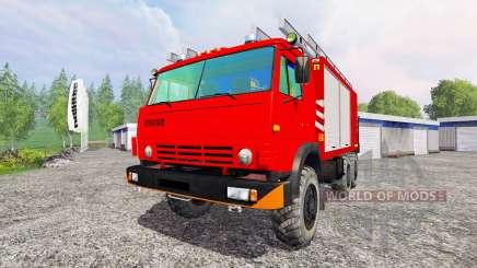 KamAZ-43114 [proteção contra incêndio] para Farming Simulator 2015