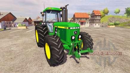 John Deere 4455 v2.3 para Farming Simulator 2013