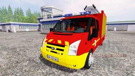 Ford Transit [sapeurs pompiers] para Farming Simulator 2015