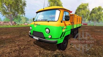 UAZ-452D [Raiffeisen] para Farming Simulator 2015
