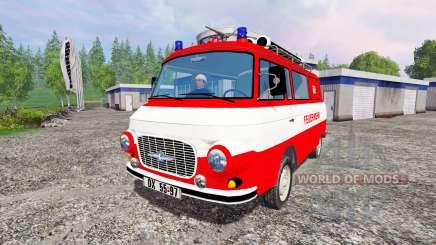 Barkas B1000 [feuerwehr] para Farming Simulator 2015