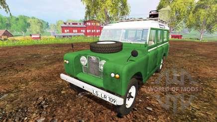 Land Rover Series IIa Station Wagon 1965 para Farming Simulator 2015