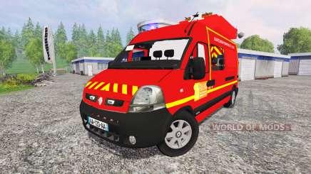Renault Master [sapeurs-pompiers] SDIS60 para Farming Simulator 2015
